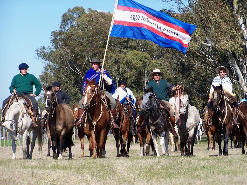 marcha Aqui nació la Patria