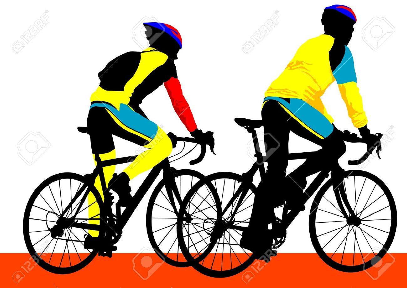 12051667-vector-silueta-dibujo-de-un-ni-o-ciclista-foto-de-archivo